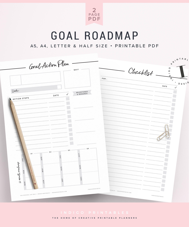 Goal Planner Goal Setting Worksheet Goals