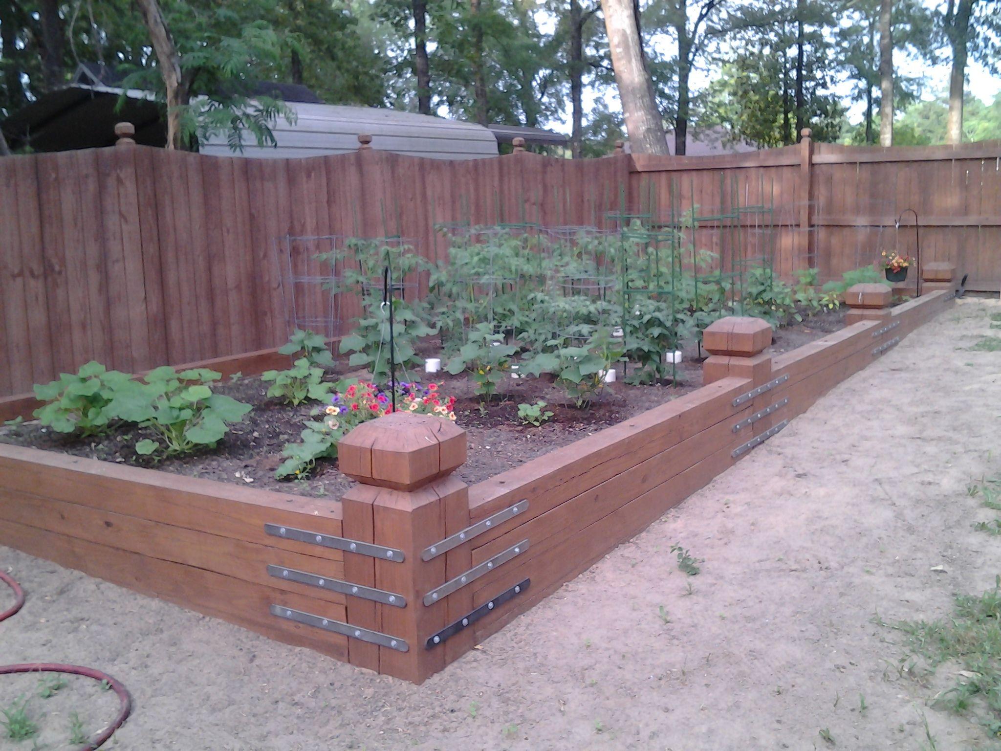 Backyard Above Ground Garden Above Ground Garden Raised Garden Beds Garden 400 x 300