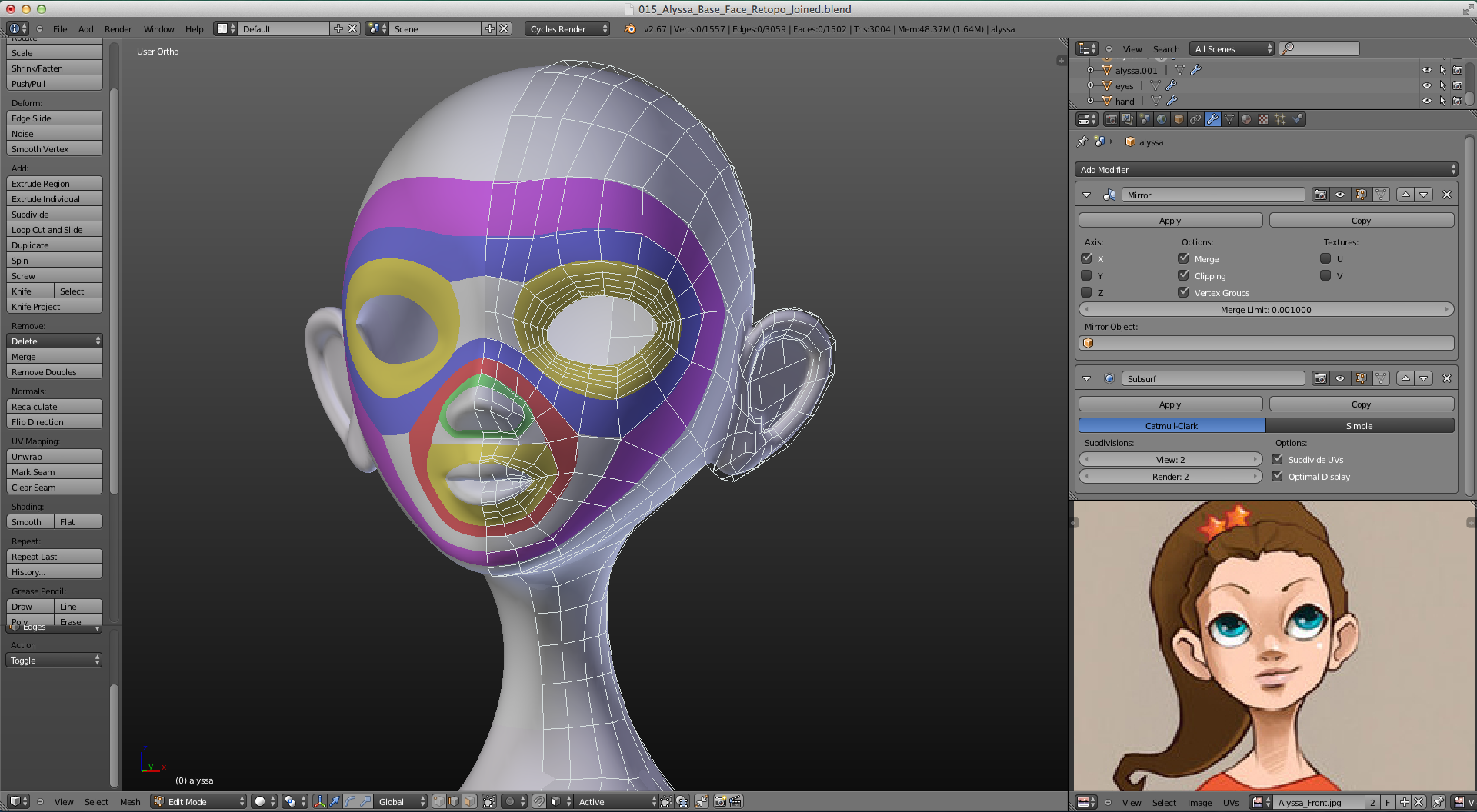Character face modeling - Modelling / Sculpting | Face topology, Topology,  Character