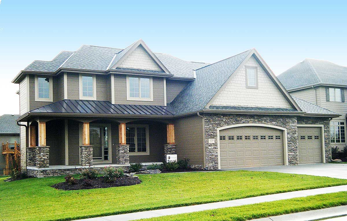 Plan 62465DJ New American House Plan with Open Concept
