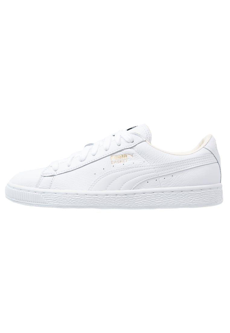 Puma BASKET CLASSIC - Sneakers laag - white - Zalando.nl