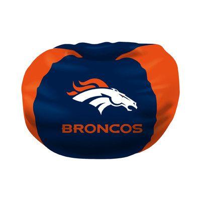 NFL Bean Bag Chair NFL Team: Denver Broncos   Http://delanico.