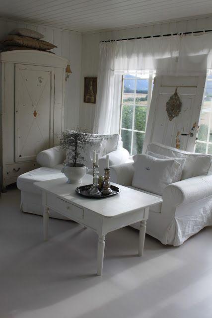 V i n ⓣ a g e  I n t e r i o r s A White Room 1 Pinterest - wohnzimmermbel landhausstil weiss