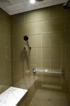 Large Format Glass Tile In Bath Condominium Renovation Morgante Wilson Architects Condominium Renovation Bathrooms Remodel Bathroom Design