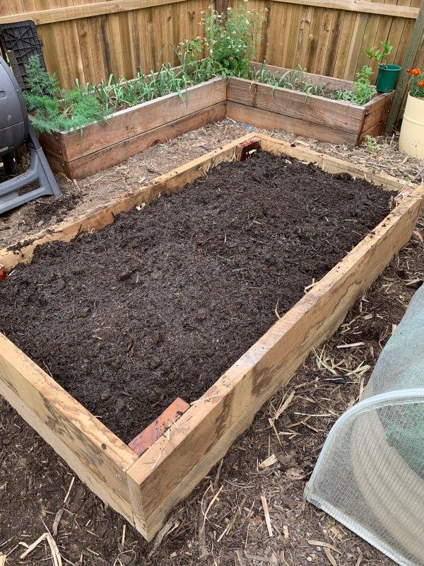 How to fill a raised bed for under 10 Growing food