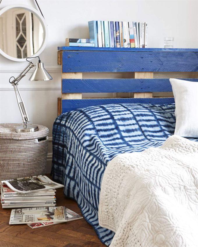 Un cabecero de palets de estilo marinero para tu cama | Pinterest ...