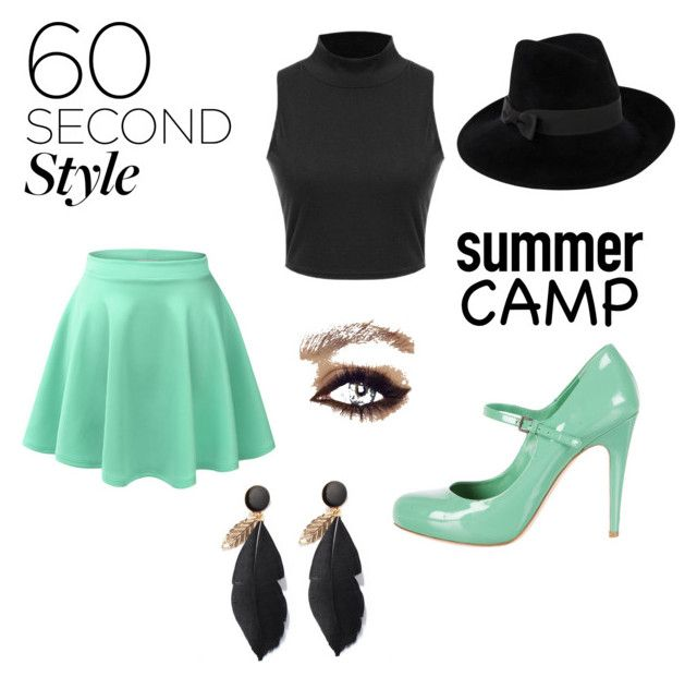 """Summer cool"" by jill-hubbard on Polyvore featuring LE3NO, Miu Miu, Mademoiselle Slassi, summercamp and 60secondstyle"