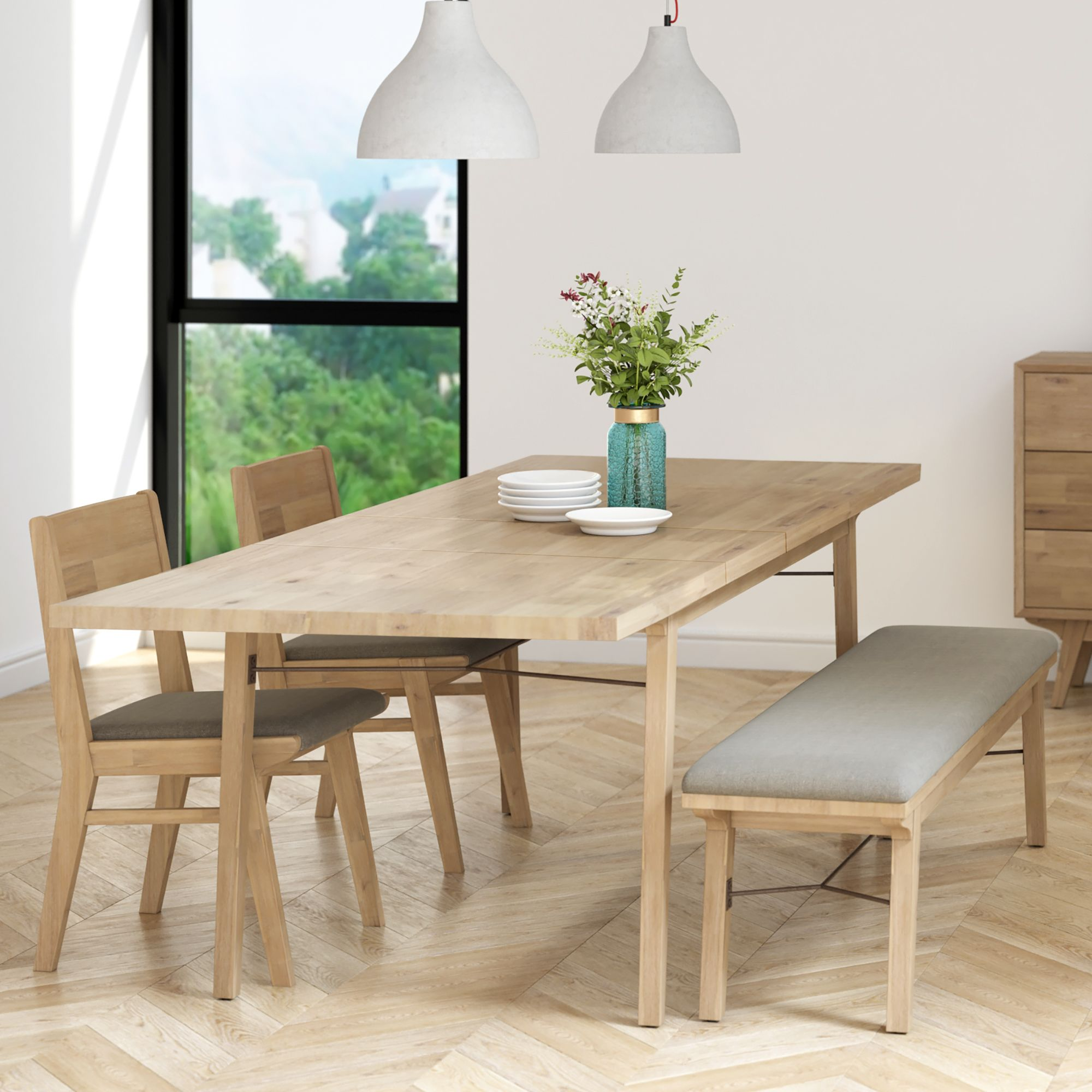 33+ Dining table bench and 2 chairs Best