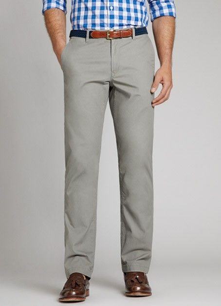 grey chino pants men - Pi Pants
