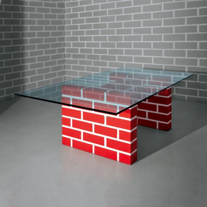Post Design | Richard Woods | RED BRICK TABLE No.2 | Memphis Design Store