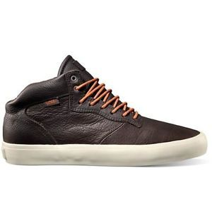 7e4f4196a10b94 VANS-Mens-Piercy-Saddle-Brown-Leather-Casual-Mid-Tops-Shoes ...