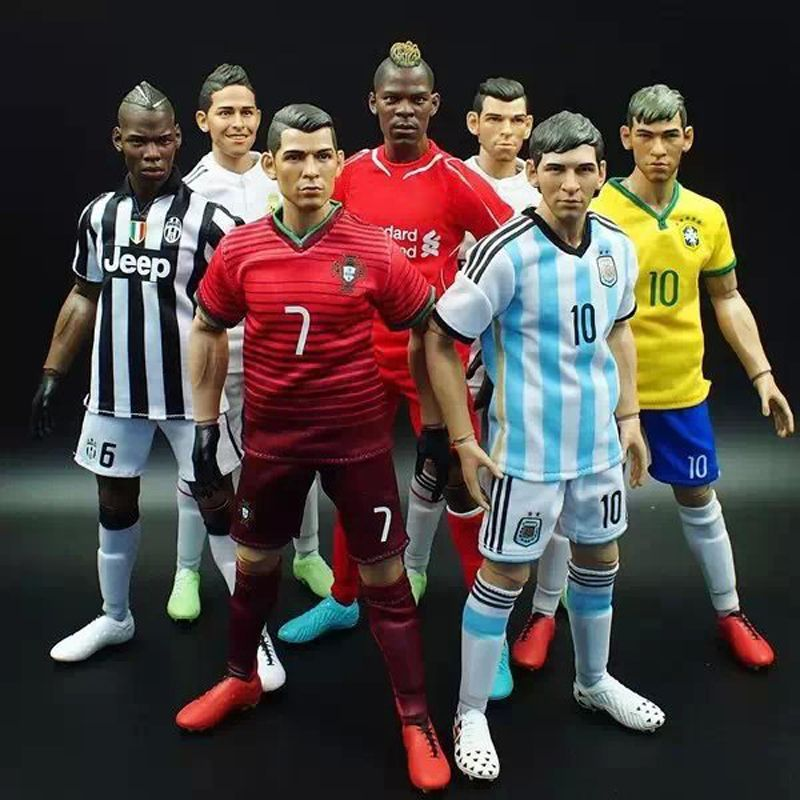 Kodoxo 1 6 Scale Figurine Football Player Movable Dolls 28cm Figure Box Include Accessories Freedom Of Choic Football Players Football Gifts For Football Fans