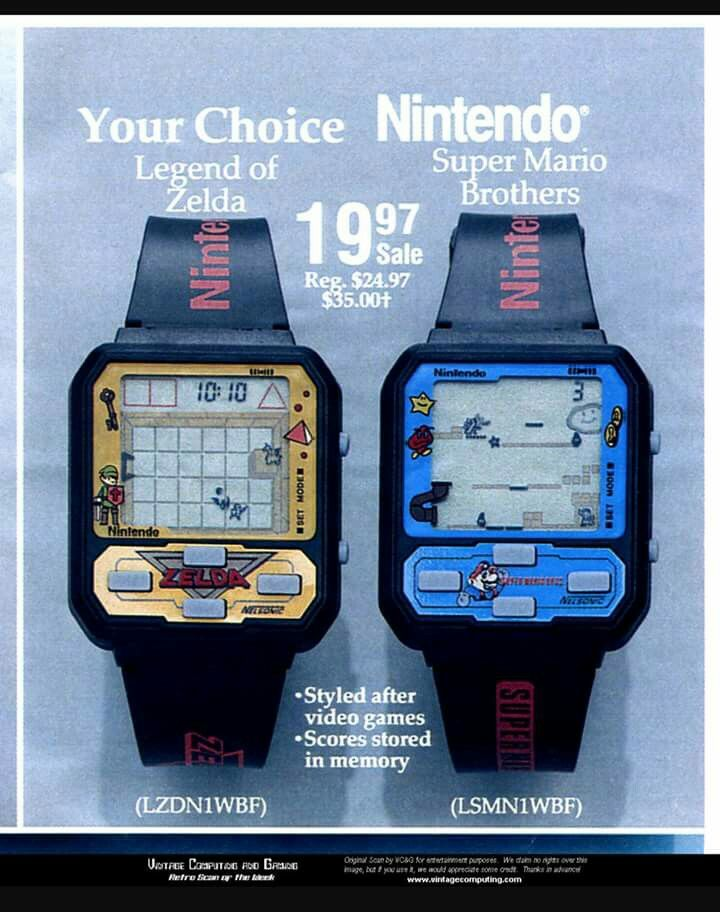Screw Apples Watch Nintendos Watches Were Way Cooler Gamer Gear
