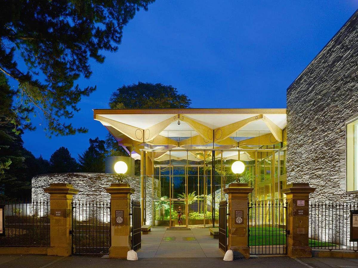 The John Hope Gateway Royal Botanic Gardens Edinburgh Architecture Beautiful Homes Sustainable Lifestyle