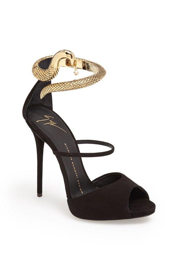 Giuseppe Zanotti Snake Cuff Sandal
