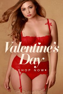 92b13698b0ec0 Plus Size Giselle Chemise with Garters