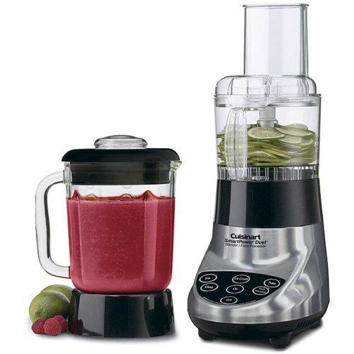 Cuisinart Smart Power Duet Blender Food Processor I Want This Blender Food Processor Food Processor Recipes Blender