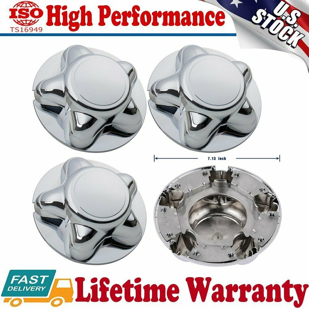 Advertisement Ebay 4x 7 Chrome Hubcap Center Cap For 97 00 Ford F150 Expedition Alloy Rim Wheels Ford F150 F150 Ford