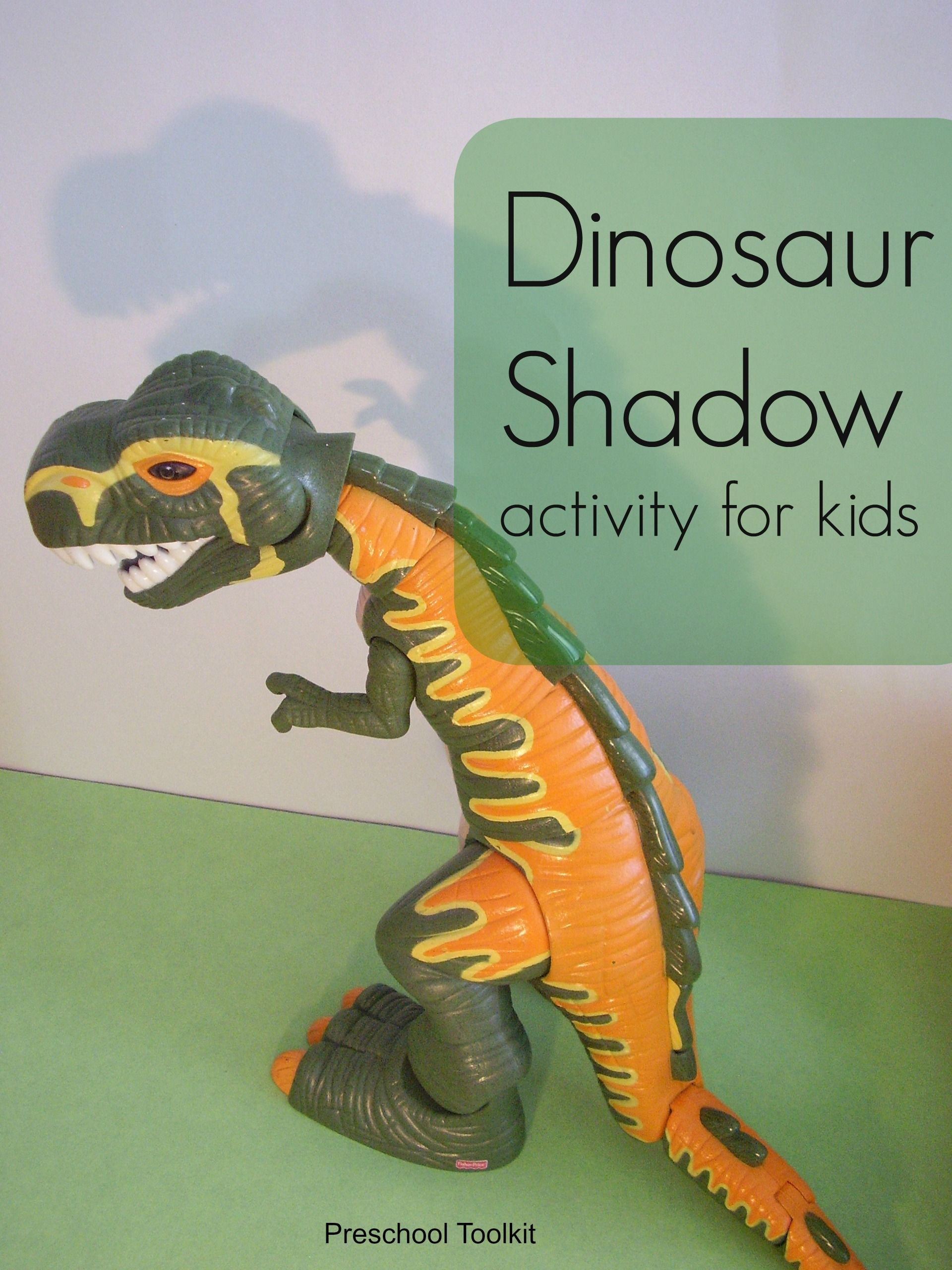 How To Make Dinosaur Shadow Characters