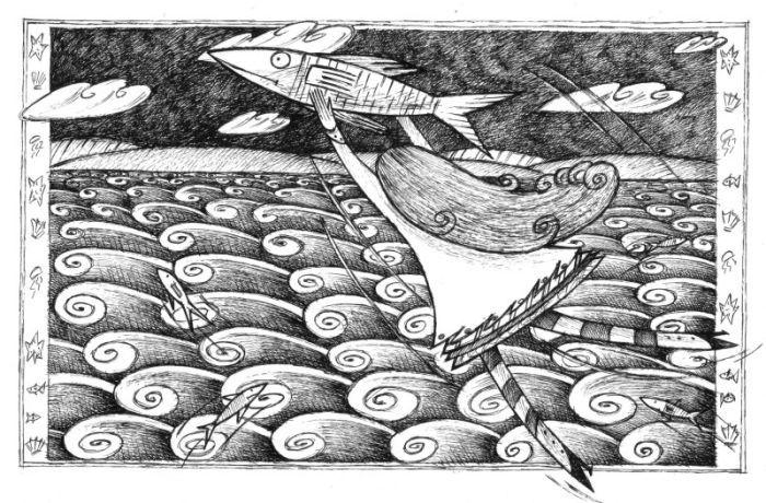 Barbara Vagnozzi - Girl Flying Away