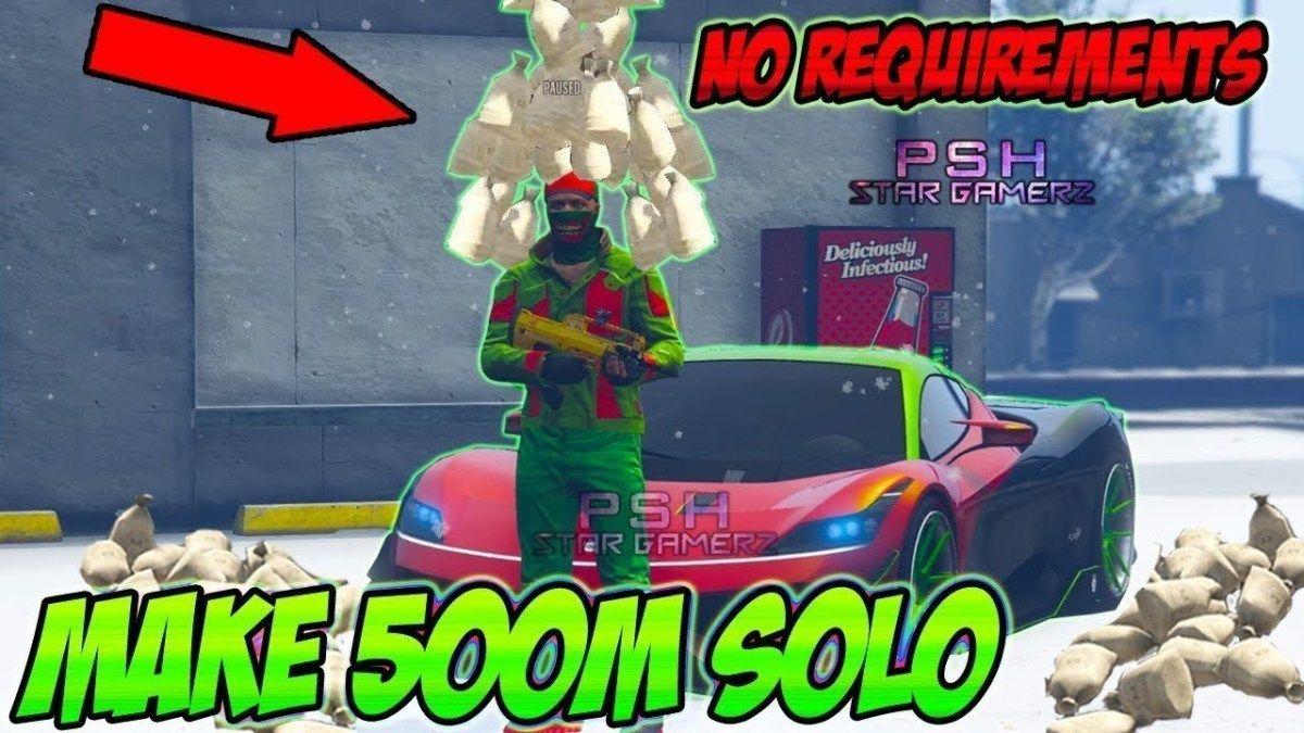 NEW GTA 5 Money Glitch *Make MILLIONS Now* Unlimited Solo
