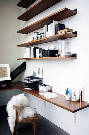 home office design ideas big. Small Home Office Ideas Design Inspiration With Wall Shelves #officedesignsformen | Designs Pinterest Inspiration, Room And Big