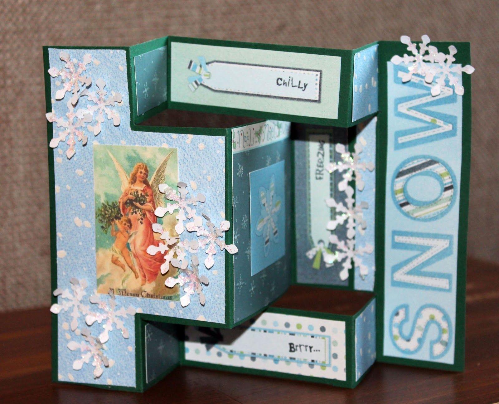 Tri-fold card by Me piipertäjät