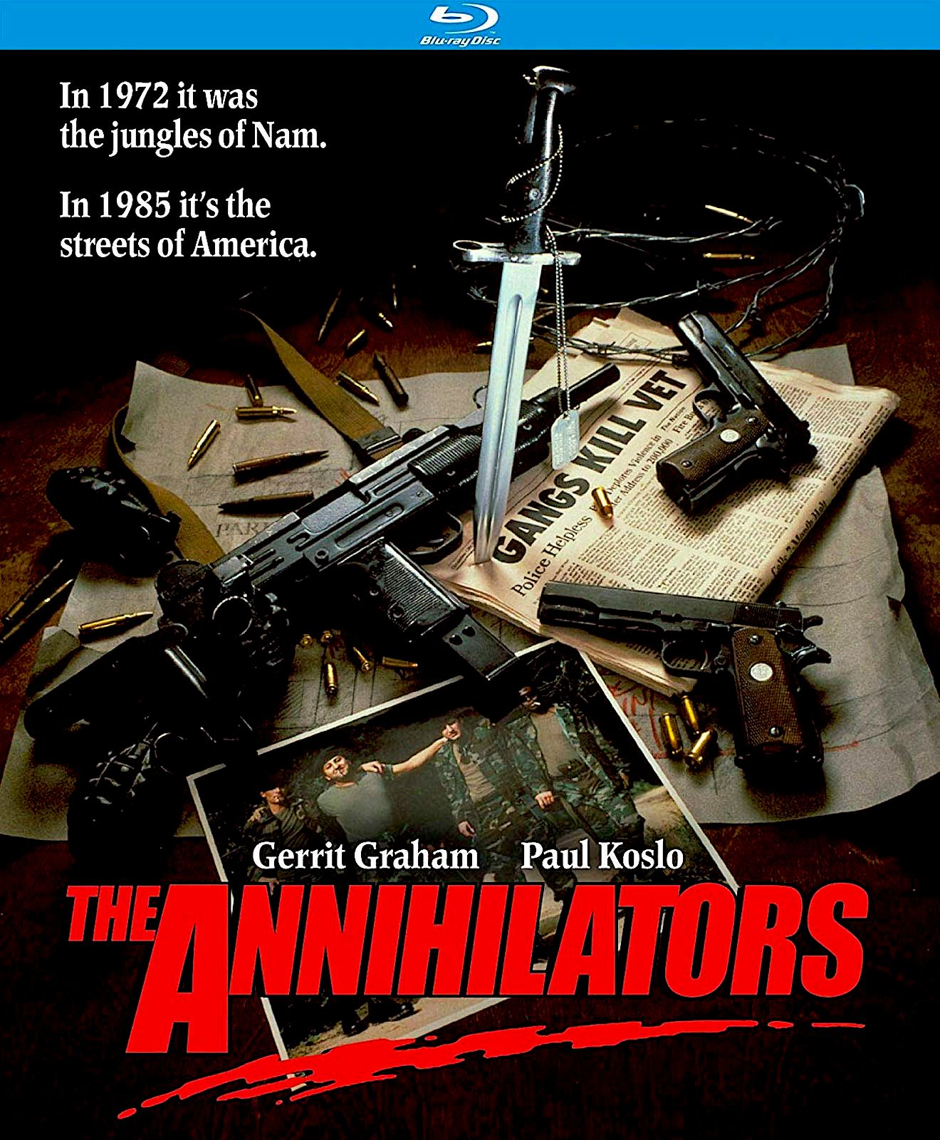 THE ANNIHILATORS REVERSE COVER BLU-RAY (KINO LORBER) | RECENT AND