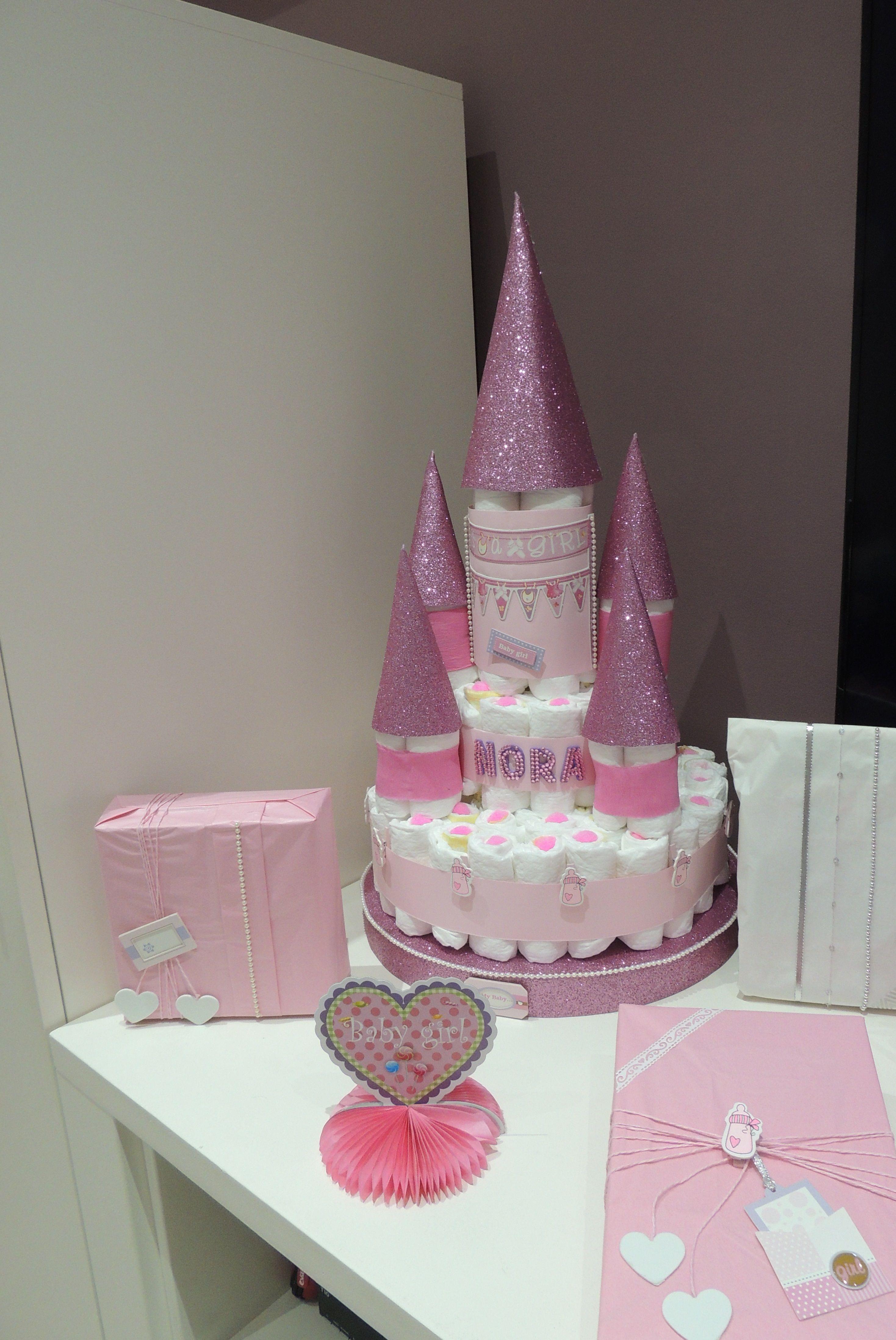 Tarta De Panales Castillo De Princesa Para Nora Con Imagenes