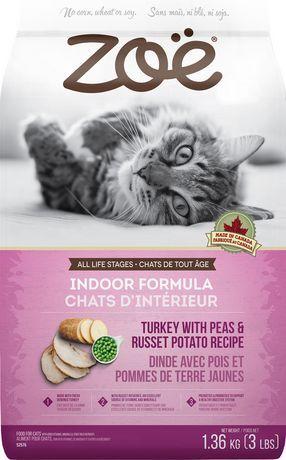 Zoe Zo  Indoor Turkey With Peas And Russet Potato Food Recipe For Cats  1.36Kg #russetpotatorecipes