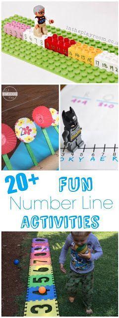 20 Fun Number Line Activities