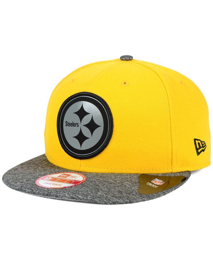 2354f8a9b New Era Pittsburgh Steelers Gridiron Hook 9FIFTY Snapback Cap ...