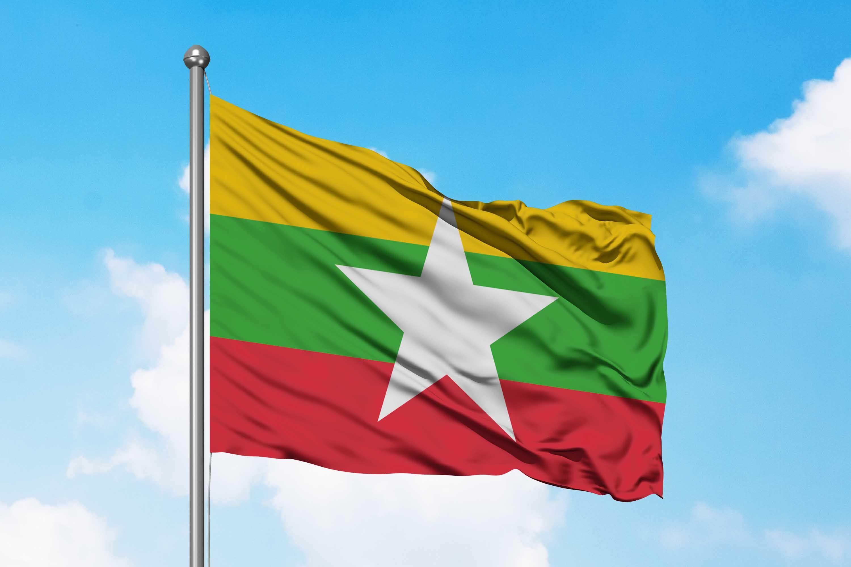 Bendera Myanmar Bendera