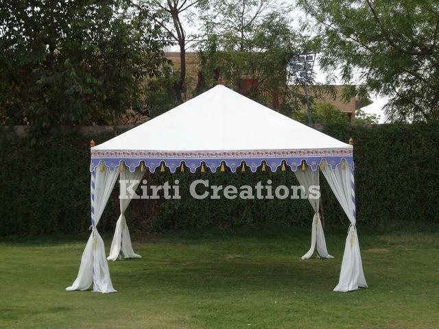 Luxurious Pergola Tent  Luxurious Pergola Tent
