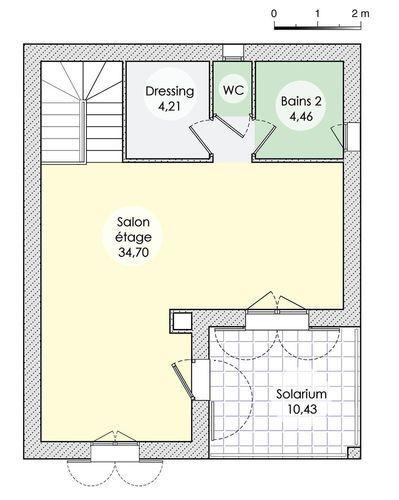 Une maison aux lignes inspirées du passé Pinterest Construction - plan maison etage m