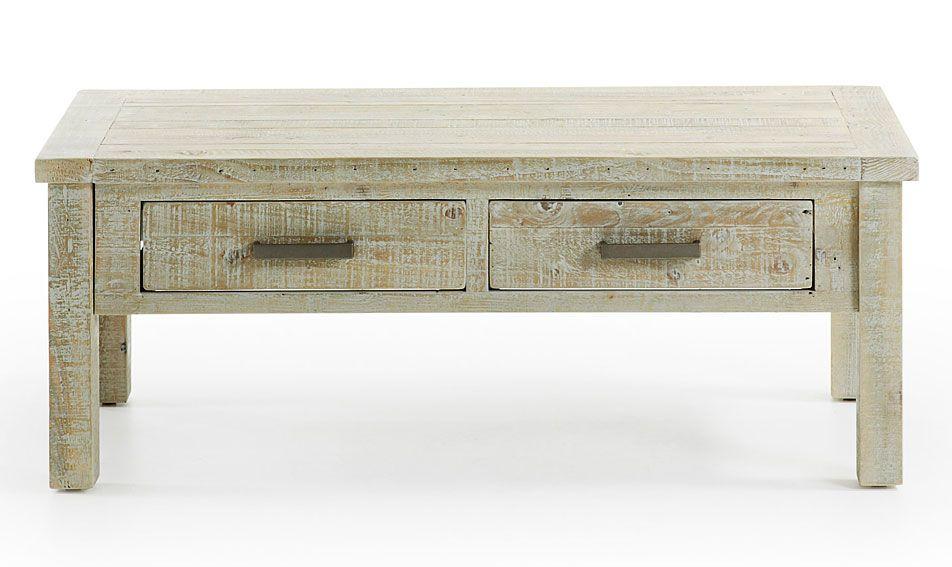 Mesa de centro Colonial Hycks Material: Madera de Pino Mueble ...