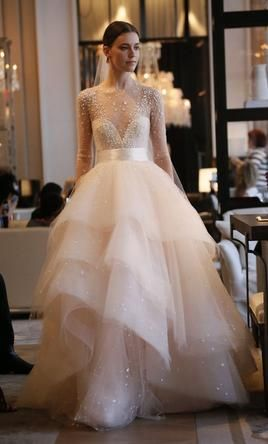 Monique Lhuillier Aviva Wedding Dress Used Size 2 5 500
