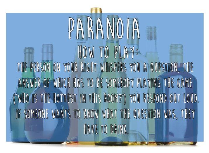 Photo of Paranoia