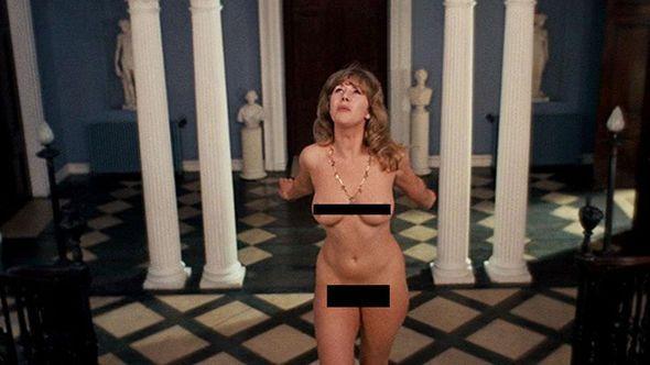 Helen mirren naked fuck the queen
