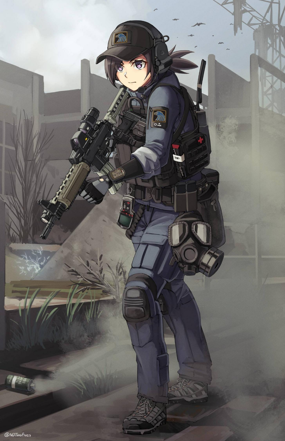 L300 [S.T.A.L.K.E.R] in 2020 Anime military, Character