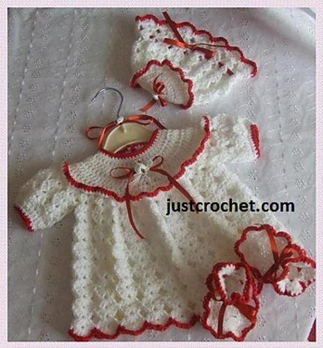 bcbcbc7a55d3 Ravelry  Baby Crochet Pattern JC56NB pattern by Justcrochet Designs ...
