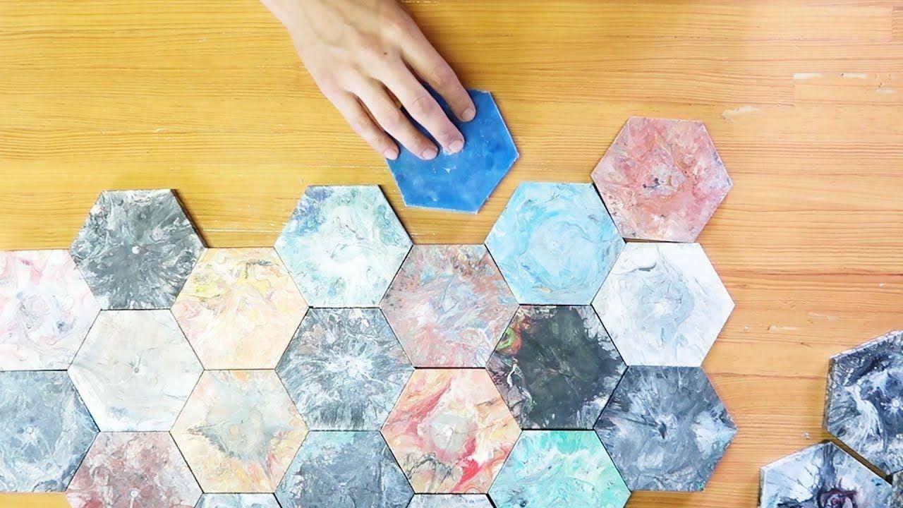 39+ Fancy Hexagon Tiles Mold Wall Tiles Plastic waste