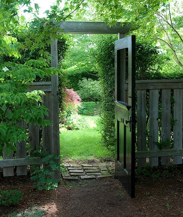 Fence Gate Design Ideas: The 25+ Best Wooden Garden Gate Ideas On Pinterest