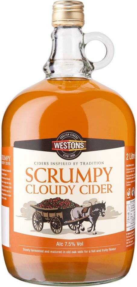 Buy Westons Scrumpy Cloudy Cider 2l Online In Asda At