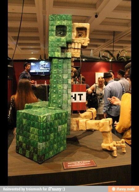 Minecraft Creeper In Real Life Art Tats Minecraft Minecraft