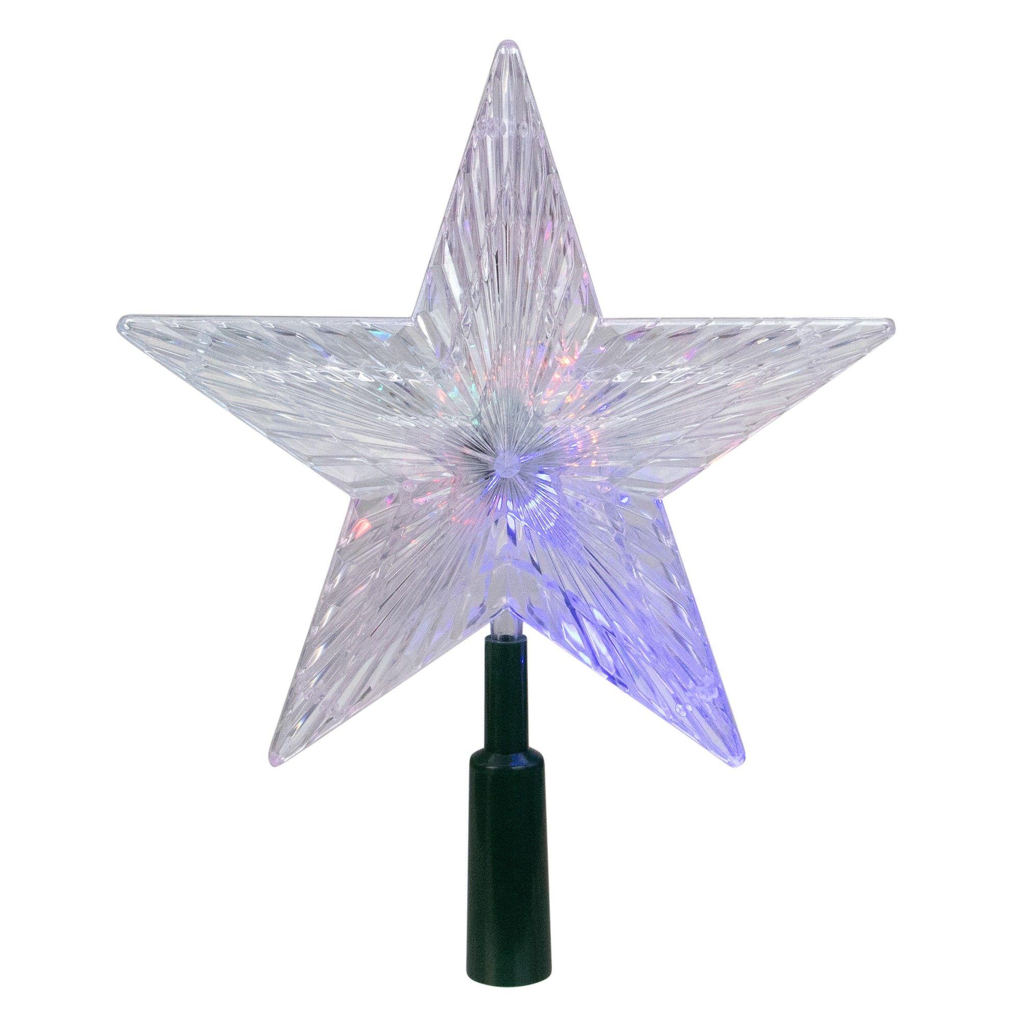 """Kurt S. Adler 8.5"""" Lighted LED Color Changing Star"""