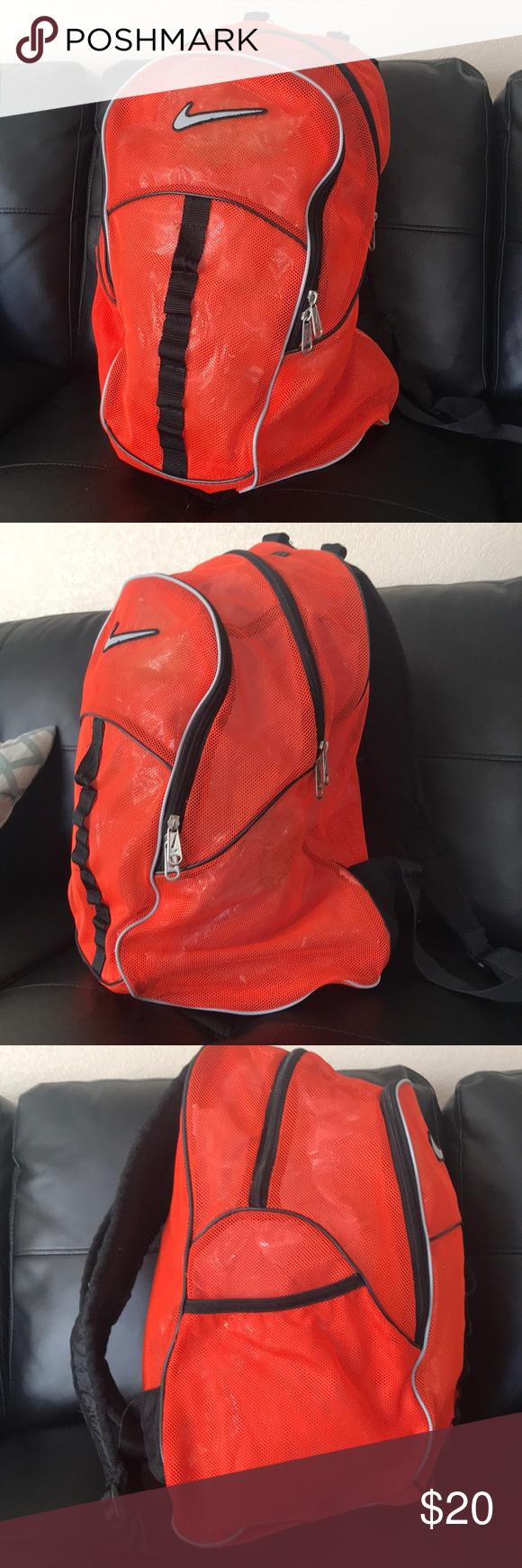 Berg Cordura Graphic Backpack  save off fe252 95640 🎒Nike Brasilia orange  Mesh Backpack 🎒 🎒Nike Brasilia orange Mesh ... 0932ec698e00d