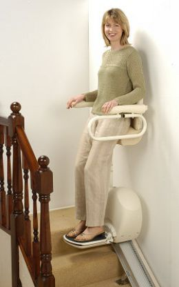 Stair Lifts For The Elderly Standing Stair Lift Perch