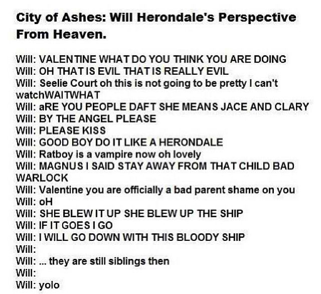 The Mortal Instruments The Infernal Devices Community