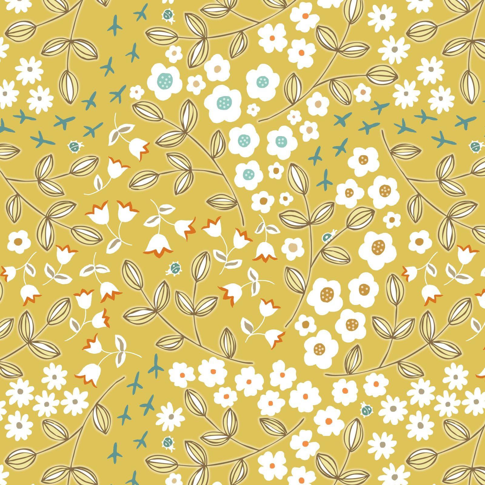 2015 Ditsy Floral Design: Beckandlundy: Surface Design - Ditsy Prints